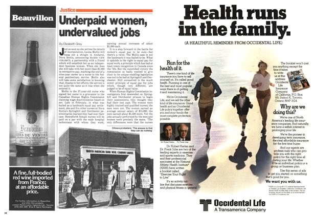 Article Preview: Underpaid women, undervalued jobs, April 1980 | Maclean's