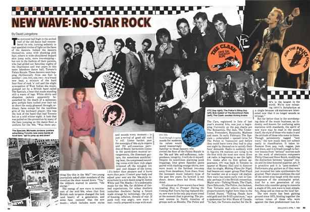Article Preview: NEW WAVE:NO-STAR ROCK, April 1980 | Maclean's
