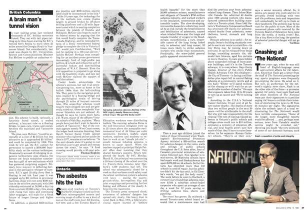 Article Preview: Gnashing at 'The National', April 1980 | Maclean's