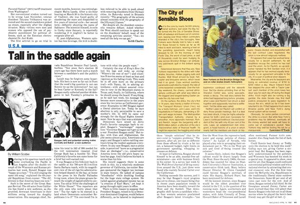 Article Preview: Tall in the saddle again, April 1980 | Maclean's