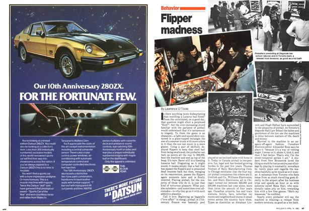 Article Preview: Flipper madness, April 1980 | Maclean's