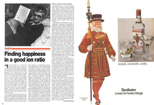 Article Preview: Finding happiness in a good ion ratio, April 1980 | Maclean's