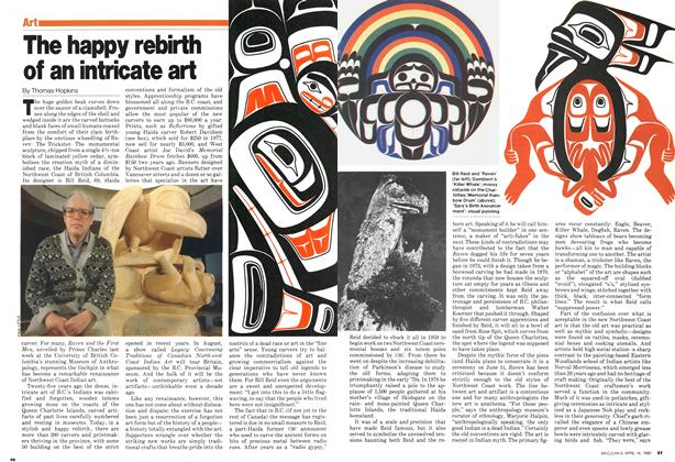 Article Preview: The happy rebirth of an intricate art, April 1980 | Maclean's