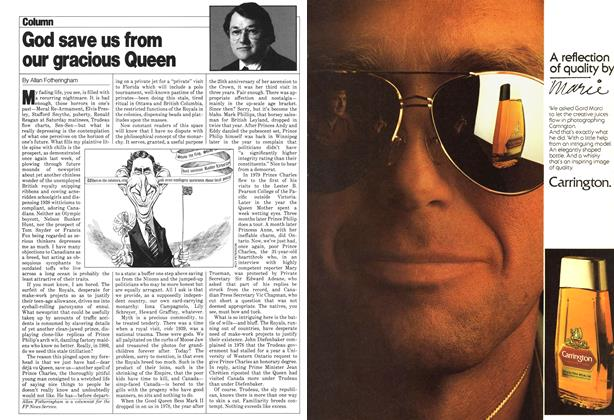 Article Preview: God save us from our gracious Queen, April 1980 | Maclean's