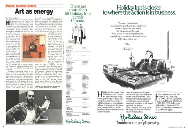 Article Preview: Art as energy, April 1980 | Maclean's