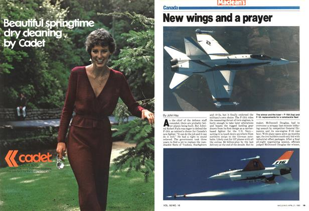Article Preview: New wings and a prayer, April 1980   Maclean's