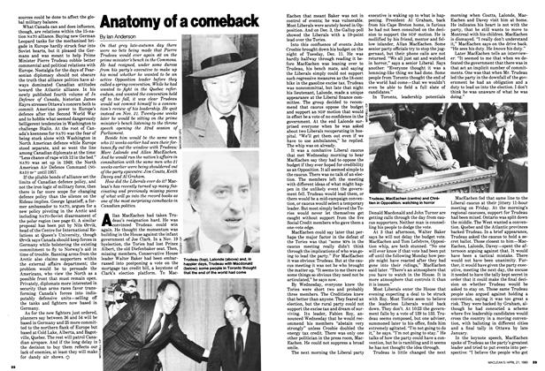 Article Preview: Anatomy of a comeback, April 1980 | Maclean's