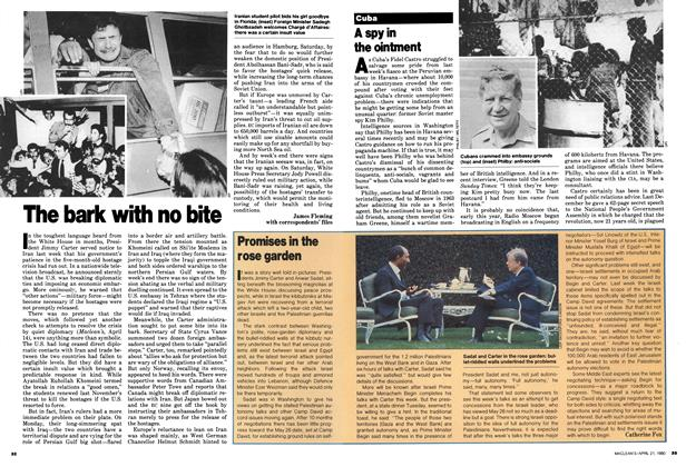 Article Preview: A spy in the ointment, April 1980 | Maclean's