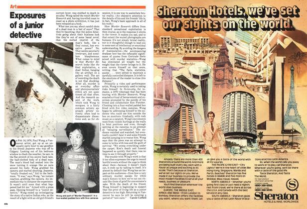 Article Preview: Exposures of a junior detective, April 1980 | Maclean's
