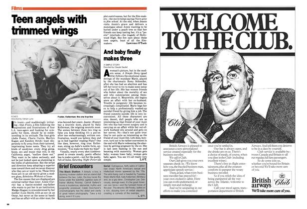 Article Preview: Teen angels with trimmed wings, April 1980 | Maclean's