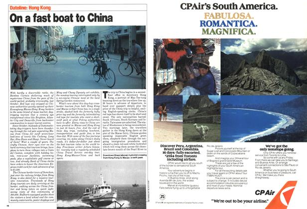 Article Preview: On a fast boat to China, April 1980 | Maclean's