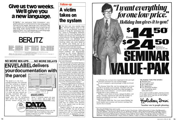 Article Preview: A victim takes on the system, April 1980 | Maclean's