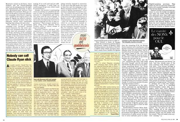 Article Preview: Nobody can call Claude Ryan slick, April 1980 | Maclean's