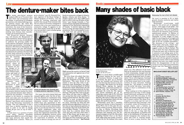Article Preview: The denture-maker bites back, April 1980 | Maclean's