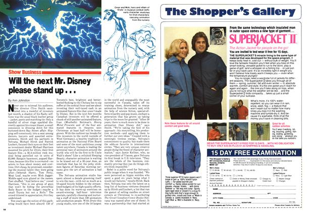 Article Preview: Will the next Mr. Disney please stand up..., April 1980 | Maclean's
