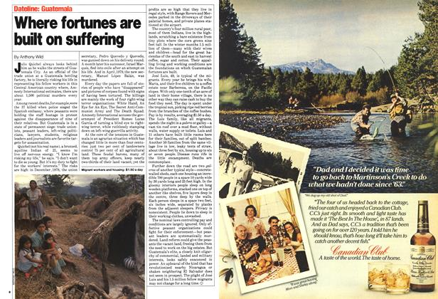 Article Preview: Where fortunes are built on suffering, April 1980 | Maclean's
