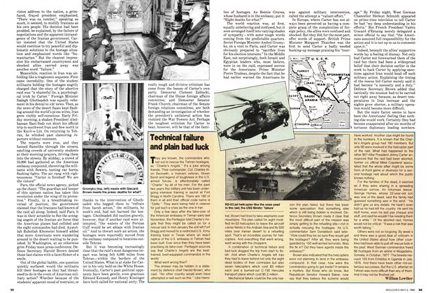 Article Preview: Technical failure and plain bad luck, May 1980 | Maclean's