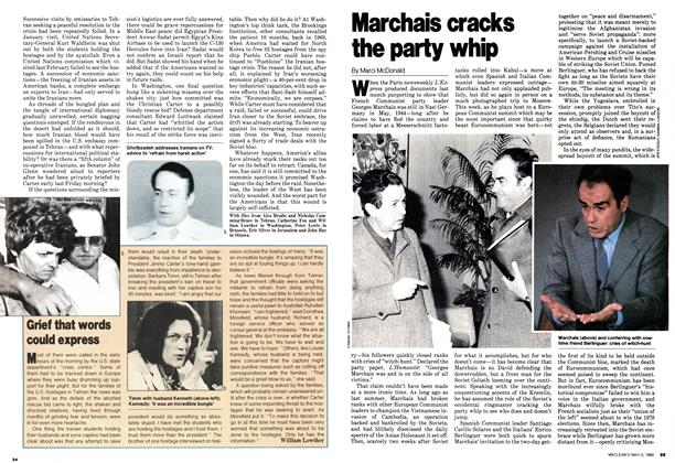 Article Preview: Marchais cracks the party whip, May 1980 | Maclean's