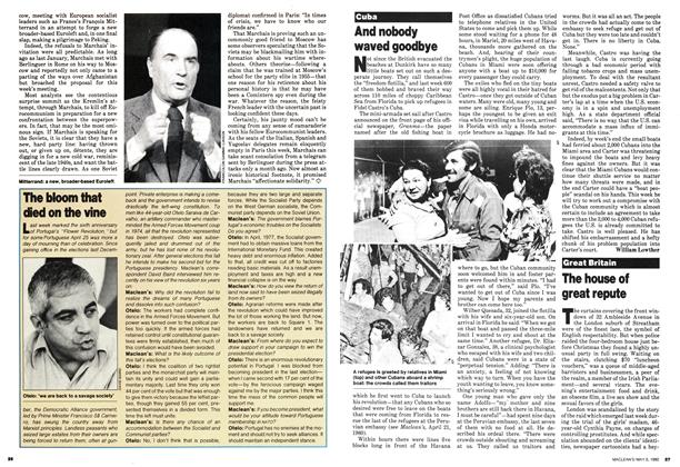 Article Preview: And nobody waved goodbye, May 1980 | Maclean's