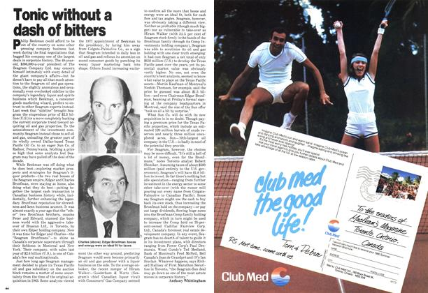 Article Preview: Tonic without a dash of bitters, May 1980   Maclean's
