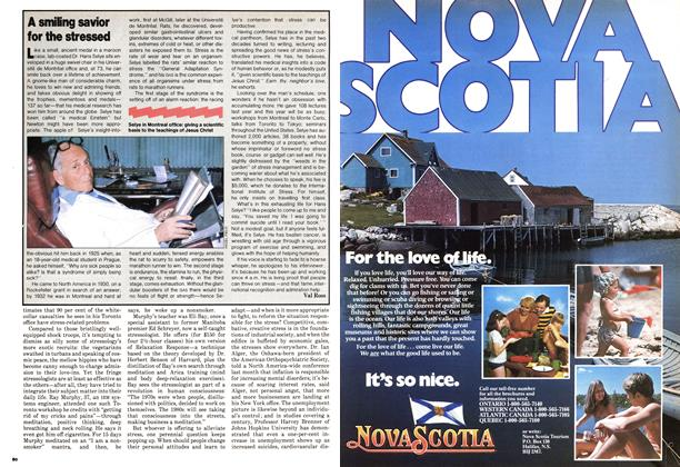Article Preview: A smiling savior for the stressed, May 1980 | Maclean's