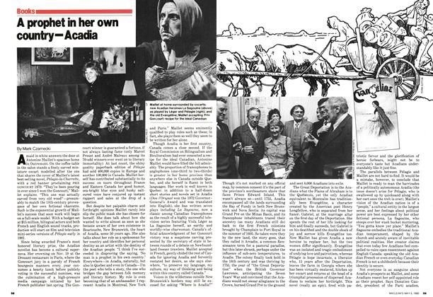 Article Preview: A prophet in her own country—Acadia, May 1980 | Maclean's