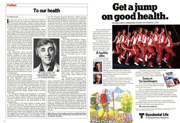 Article Preview: To our health, May 1980 | Maclean's