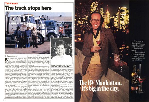 Article Preview: The truck stops here, May 1980 | Maclean's