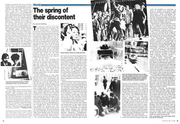 Article Preview: The spring of their discontent, May 1980 | Maclean's