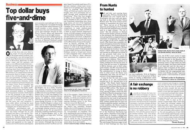 Article Preview: Top dollar buys five-and-dime, May 1980 | Maclean's
