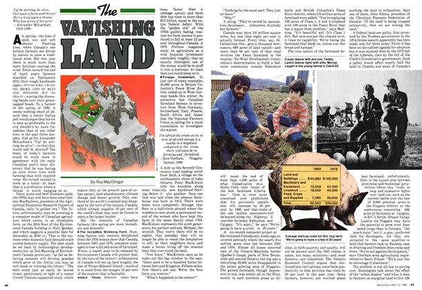 Article Preview: The VANISHING LAND, May 1980 | Maclean's