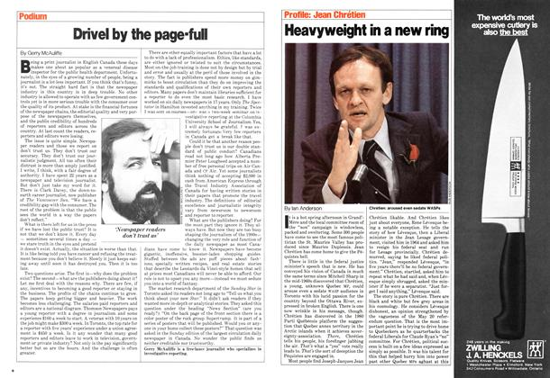 Article Preview: Heavyweight in a new ring, May 1980 | Maclean's