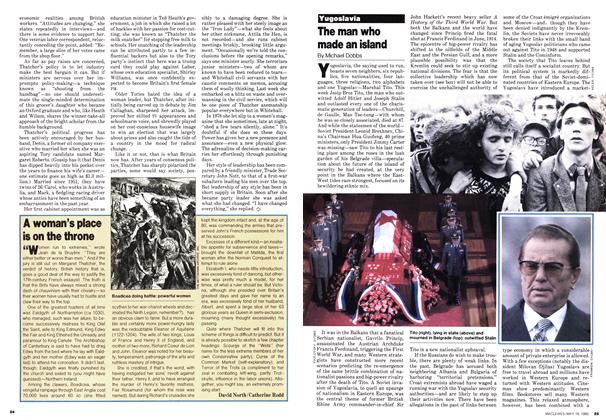 Article Preview: A woman's place is on the throne, May 1980 | Maclean's