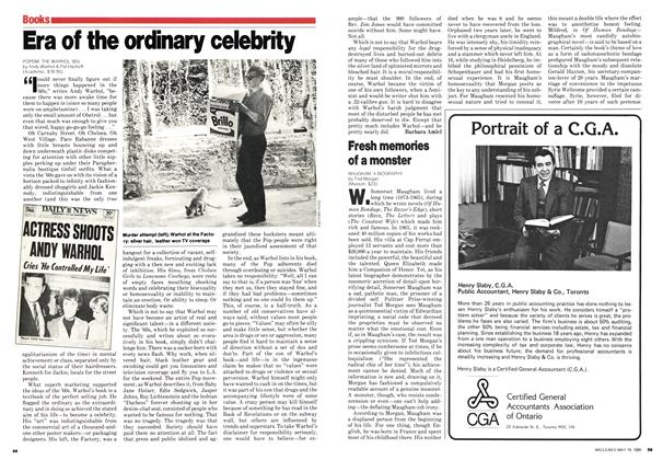 Article Preview: Era of the ordinary celebrity, May 1980 | Maclean's