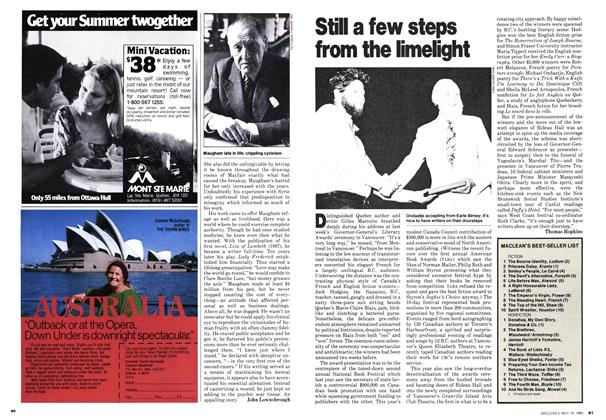 Article Preview: Still a few steps from the limelight, May 1980 | Maclean's