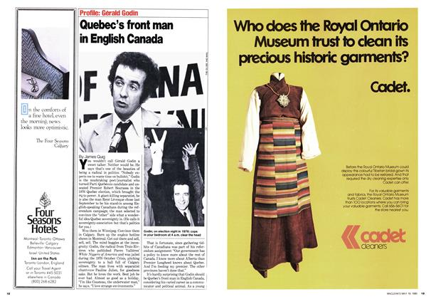 Article Preview: Quebec's front man in English Canada, May 1980 | Maclean's