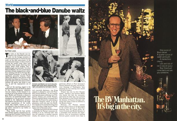 Article Preview: The Mack-and-blue Danube waltz, May 1980 | Maclean's