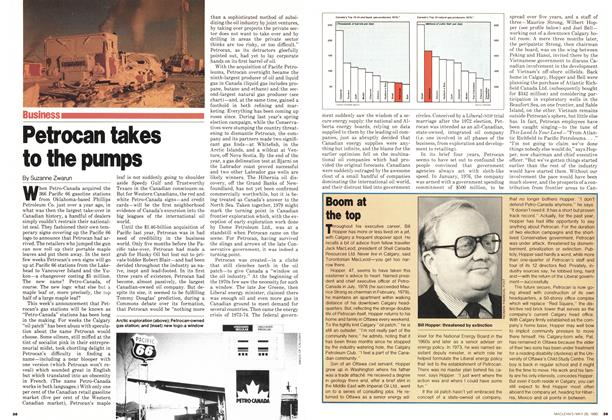 Article Preview: Petrocan takes to the pumps, May 1980 | Maclean's