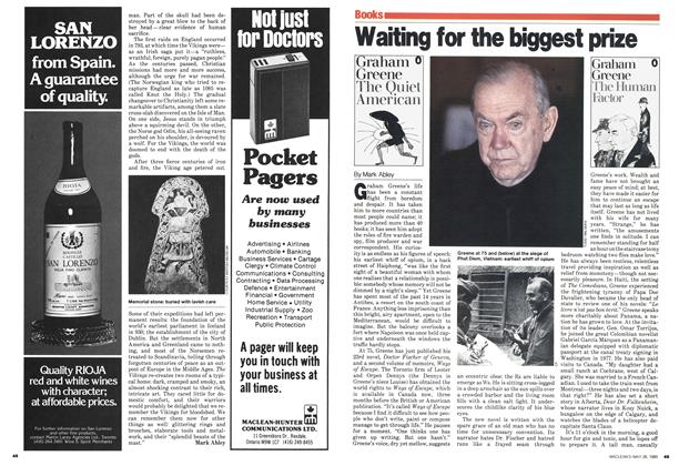 Article Preview: Waiting for the biggest prize, May 1980 | Maclean's