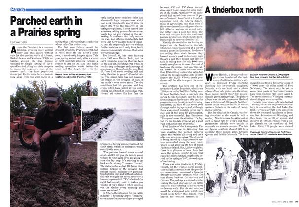 Article Preview: Parched earth in a Prairies spring, June 1980 | Maclean's