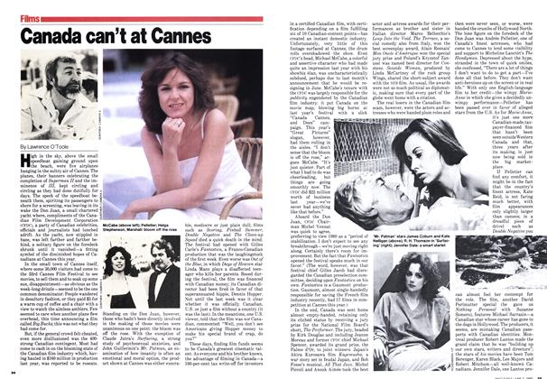 Article Preview: Canada can't at Cannes, June 1980 | Maclean's