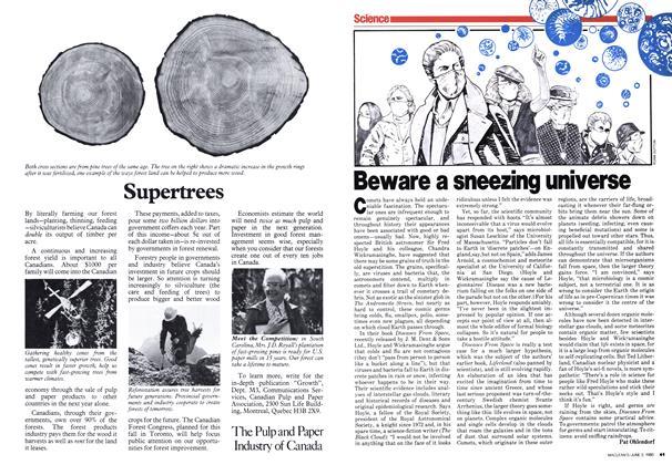 Article Preview: Beware a sneezing universe, June 1980 | Maclean's
