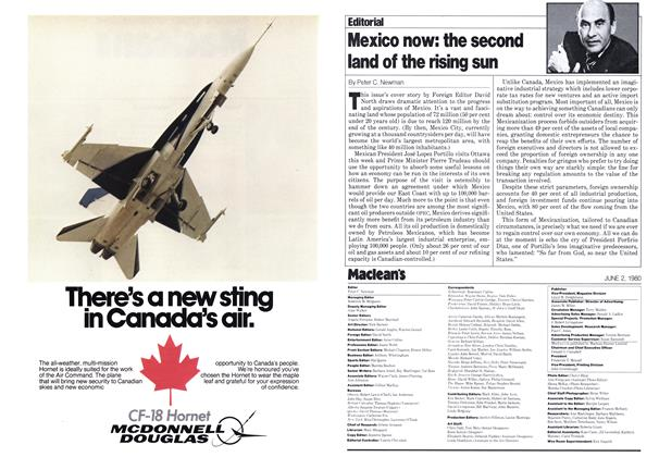 Article Preview: Mexico now: the second land of the rising sun, June 1980 | Maclean's