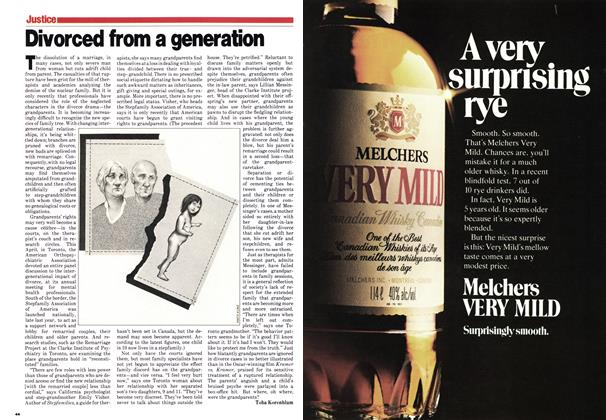 Article Preview: Divorced from a generation, June 1980 | Maclean's