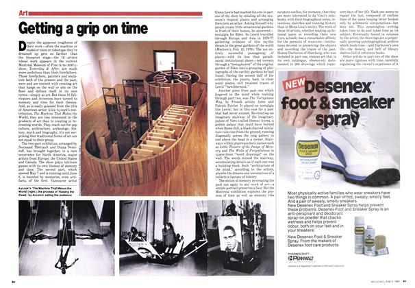 Article Preview: Getting a grip on time, June 1980 | Maclean's