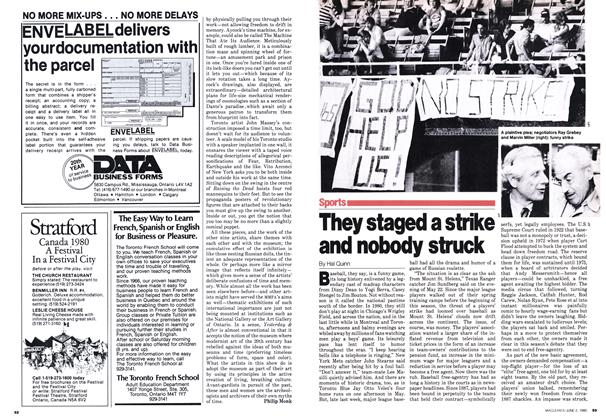 Article Preview: They staged a strike and nobody struck, June 1980 | Maclean's