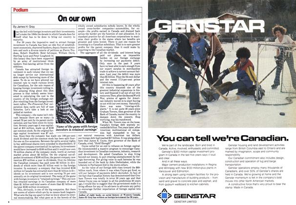 Article Preview: On our own, June 1980 | Maclean's