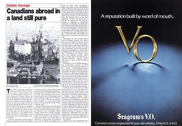 Article Preview: Canadians abroad in a land still pure, June 1980 | Maclean's