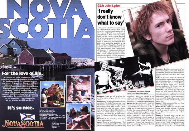 Article Preview: 'I really don't know what to say', June 1980 | Maclean's