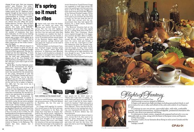 Article Preview: It's spring so it must be rites, June 1980 | Maclean's